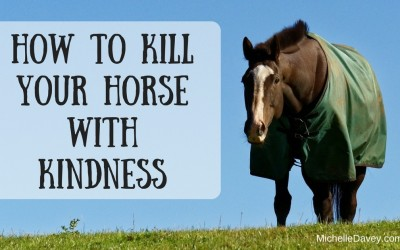 How To Kill Your Horse With Kindness