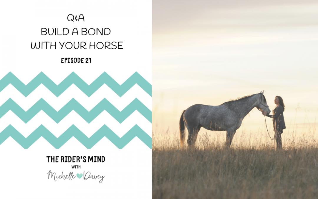 Episode 21: Q & A Build A Bond With Your Horse