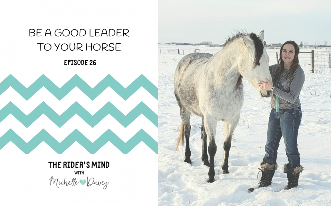 Episode 26:  Be a Good Leader to Your Horse