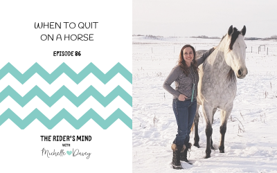Episode 86: When to Quit on a Horse